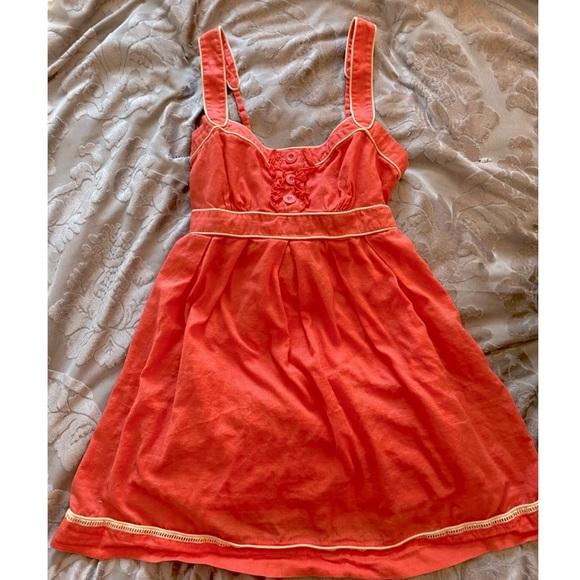 Jessica Simpson Cute little orange dress.